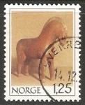 Sellos de Europa - Noruega -  Caballo