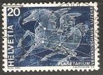 Sellos de Europa - Suiza -  Planetarium