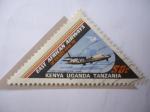 Sellos de Africa - Uganda -  Kenya-Uganda-Tanzania-Africa Oriental Británica - Fokker. F.27 - 30 Aniversario (1946/76)- East Afri