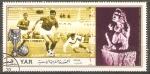 Stamps Asia - Yemen -  COPA MUNDIAL DE FUTBOL MEXICO 1970