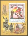 Stamps Africa - Central African Republic -  CAMPEONATO MUNDIAL DE FUTBOL ESPAÑA 82
