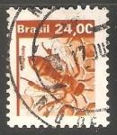 Stamps : America : Brazil :  Apicultura