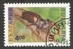 Sellos de Europa - Bulgaria -  Lucanus cervus- escarabajos