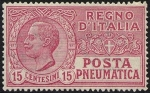 Stamps Europe - Italy -  Posta Pneumatica