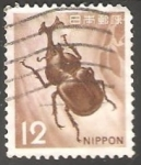 Sellos de Asia - Japón -  Escarabajo