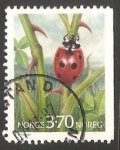 Stamps Norway -  Escarabajo