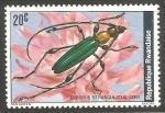 Stamps Rwanda -  euporus strangulatus