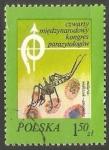 Sellos de Europa - Polonia -  Anopheles mosquito