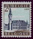 Stamps Belgium -  BÉLGICA: Campanarios de Bélgica y Francia