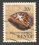 Sellos del Mundo : Africa : Kenya : Mauritia mauritiana,