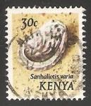 Sellos del Mundo : Africa : Kenya : Haliotis varia