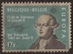 Sellos de Europa - Bélgica -  C.E.P.T., conmenoración del Edicto de Tolerancia, de Joseph II  1982 17 fr