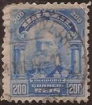 Sellos de America - Brasil -  Mariscal Deodoro da Fonseca  1906  200 reis