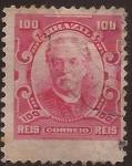 Sellos del Mundo : America : Brasil : Almirante Eduardo Wandenkolk  1906 100 reis