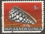Sellos del Mundo : Oceania : Papúa_Nueva_Guinea : Conus Marmoreus