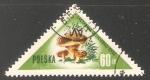 Stamps Poland -  Lactarius deliciosus
