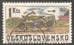 Sellos de Europa - Checoslovaquia -  Moto