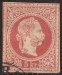 Sellos del Mundo : Europa : Austria : Emperador Francisco José  1874  5 kreuzer