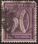 Stamps Germany -  Números  1922 50 pfennig