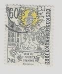sello : Europa : Checoslovaquia : 762