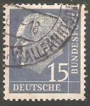 Sellos de Europa - Alemania -  Theodoro Heuss
