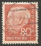 Stamps : Europe : Germany :  Theodoro Heuss