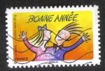 Sellos de Europa - Francia -  Los Mejores Deseos