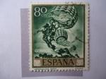 Sellos de Europa - España -  Ed:1713 - Aeronautas - José María Sert.