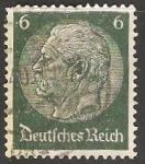 Stamps : Europe : Germany :  Mariscal Paul Von Hindenburg
