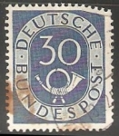 Stamps Germany -  Cuerno Postal