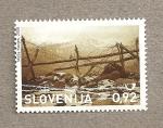 Stamps Slovenia -  90 Aniv. del fin de la I Guerra Mundial