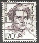 Sellos de Europa - Alemania -   Hannah Arendt