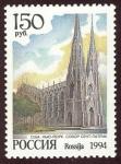 Stamps Russia -  ESTADOS UNIDOS: Catedral de Saint Patrick