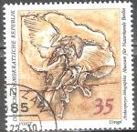 Sellos de Europa - Alemania -  Colecciones paleontológicas del Museo de Historia Natural de Berlín-DDR.