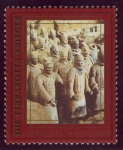 Sellos del Mundo : America : ONU : CHINA: Mausoleo del Primer Emperador Qin