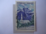Stamps France -  Iglesia de Cilaos - Scott/Francia:949