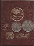 monedas del Mundo : Europa : España :  carterita 6 monedas Mundial 82  con aportación a Unicef