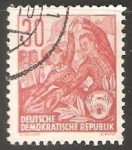 Stamps Germany -  Plan quinquenal - Oficios