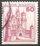 Stamps Germany -  schloss neuschwanstein