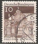 Stamps Germany -  Dresden Sachsen