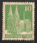 Sellos de Europa - Alemania -  Cologne Cathedral
