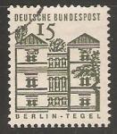 Sellos de Europa - Alemania -  Palacio de Tegel