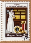 Stamps Hungary -  Telefonista