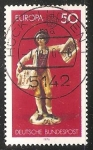 Stamps Germany -  Europa