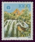 Sellos de Europa - Yugoslavia -  CROACIA: Parque nacional de Plitvice