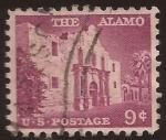 Sellos de America - Estados Unidos -  El Alamo  1956 9 centavos