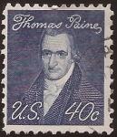 Sellos de America - Estados Unidos -  Thomas Paine 1973 40 centavos