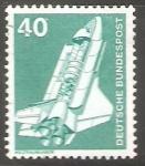 Sellos de Europa - Alemania -  Llaboratorio espacial Spacelab en transbordador espacial
