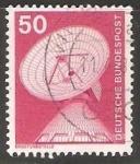 Sellos de Europa - Alemania -   Raisting estación de tierra