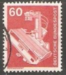 Sellos de Europa - Alemania -  Aparato de rayos X